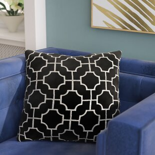Allbright Embroidered Throw Pillow