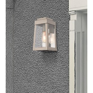 Canora Grey Mamie Outdoor Wall Lantern