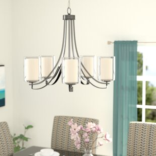 Nettie 5-Light Shaded Chandelier by Zipcode Design