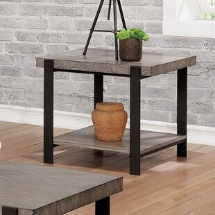 Compare prices Reinhard End Table by Gracie Oaks