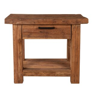Fairley Multi-Tiered Telephone Table By Union Rustic