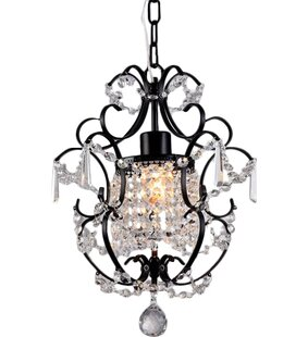 House of Hampton Daphne 1-Light Crystal Pendant