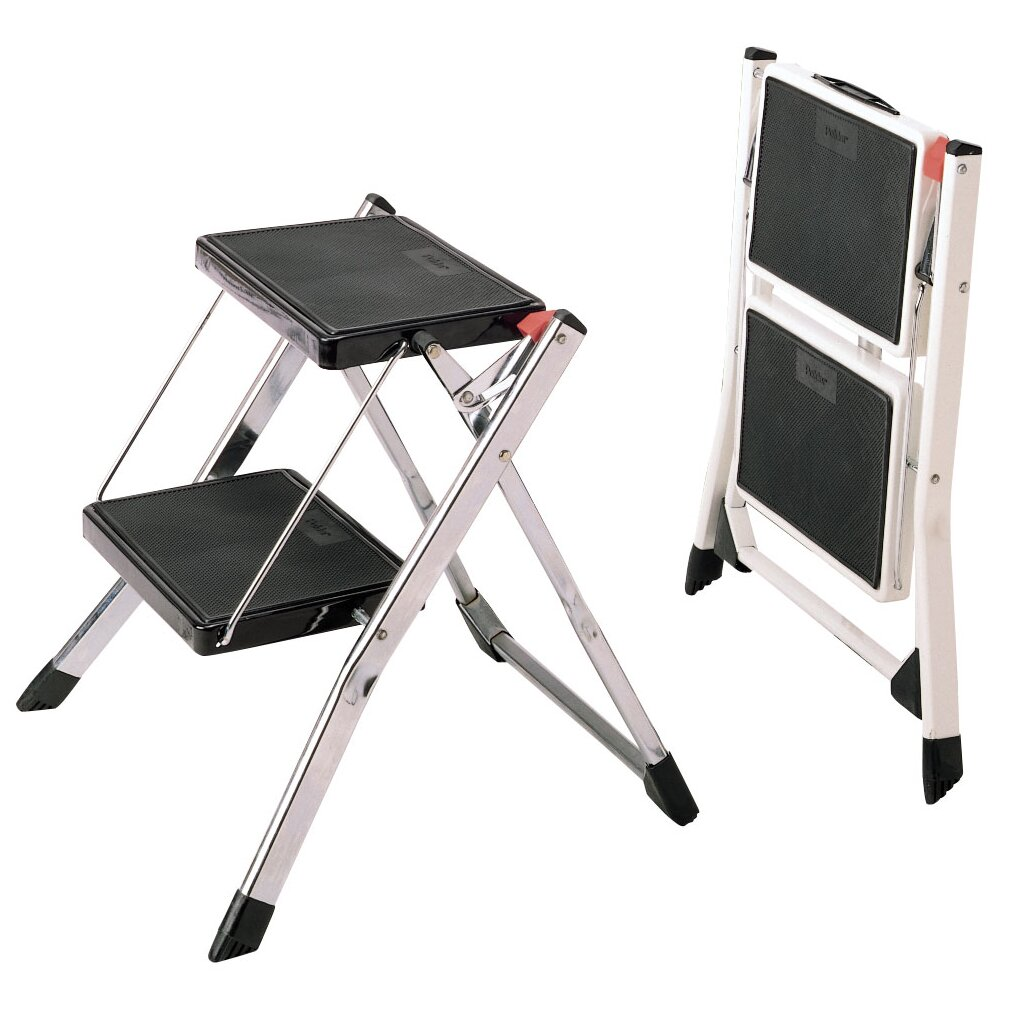 Polder Products Llc 2 Step Steel Step Stool With 225 Lb