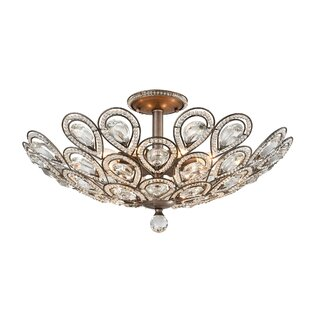 House of Hampton Norwich 8-Light Semi Flush Mount