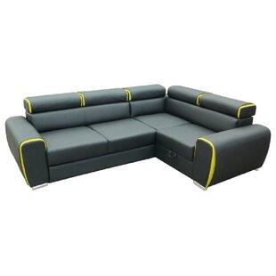 Blanco Corner Sofa Bed By Brayden Studio