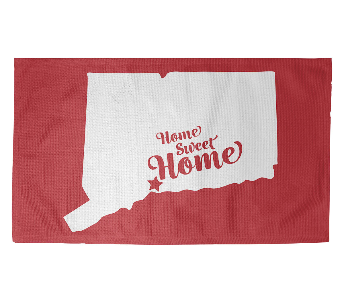 East Urban Home Home Sweet New Haven Red Area Rug Wayfair