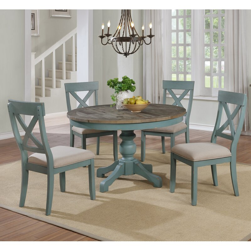 Merveilleux Cierra Round Table 5 Piece Dining Set