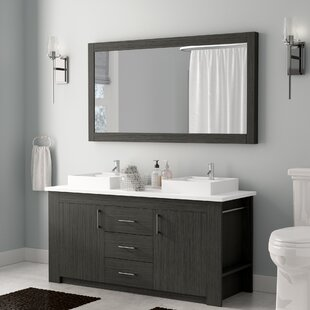 Save To Idea Board  Wade Logan Glen Ridge 60 Double Bathroom Vanity Inch Vanities You Ll Love Wayfair