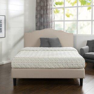 Review Hoopeston Scalloped Upholstered Bed Frame