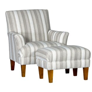 Gracie Oaks Marcell Club Chair and Ottoman