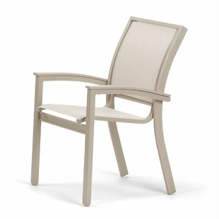 Bazza Grade Polymer/Aluminum Patio Dining Chair by Telescope Casual