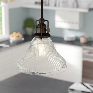 Shumway 1-Light Bell Penda..