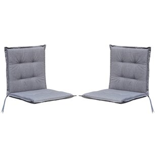Garden Seat/Back Cushion (Set Of 2) By Symple Stuff