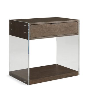 Dalton 1 Drawer Nightstand by Brownstone Furniture