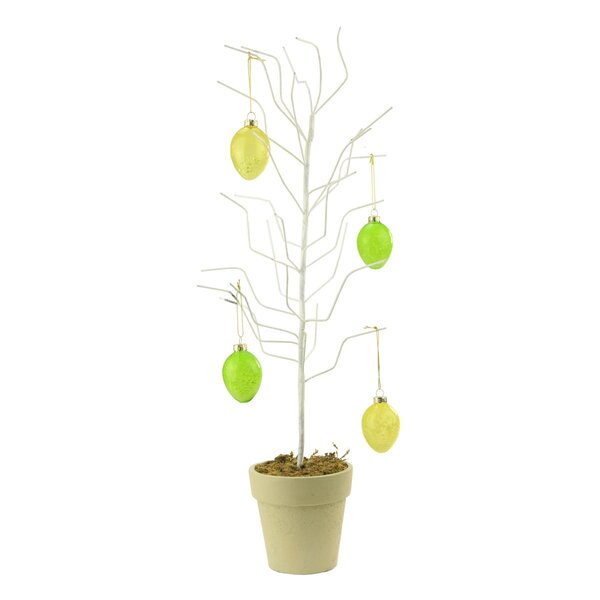 Decorative Twig Tree Northlight Decorative Potted Spring Easter Egg Ornament Display