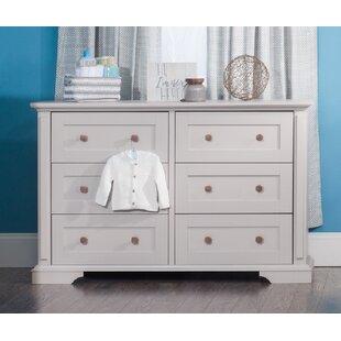 Tanner 6 Drawer Double Dresser by Child Craft