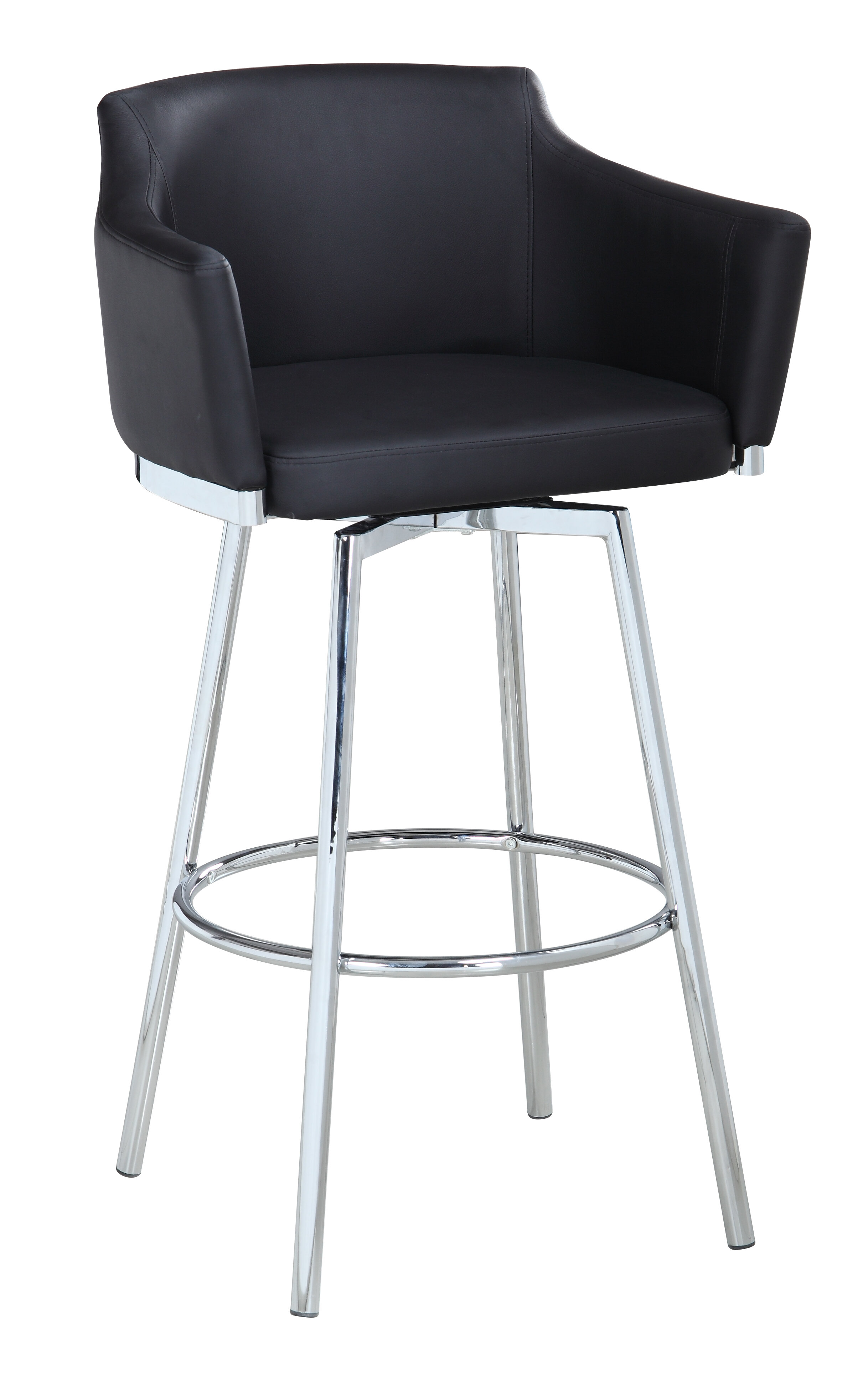 Super Carressa Bar Counter Swivel Stool Short Links Chair Design For Home Short Linksinfo