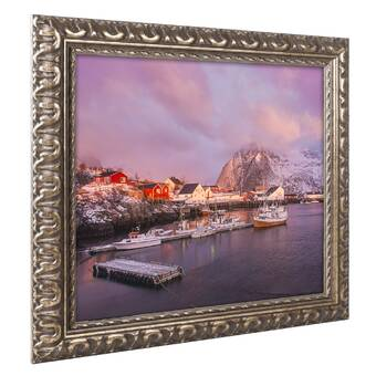 Highland Dunes Pastel Sky Ii Acrylic Painting Print On Canvas Wayfair