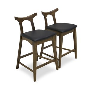 Fulda 28.5 Bar Stool (Set of 2) George Oliver