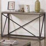 Alleman Industrial Minimal Console Table by Williston Forge