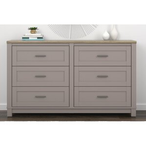 Callowhill 6 Drawer Dresser by Mercury Row