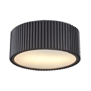 Top Reviews Brendon 2-Light Flush Mount By Elk Lighting