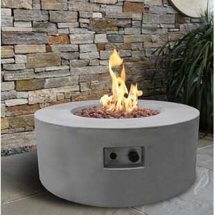 Crosslin Concrete Propane Fire Pit Table By Sol 72 Outdoor
