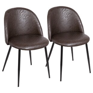 Best Price Jin Contemporary Upholstered Dining Chair (Set of 2) by Brayden Studio Reviews (2019) & Buyer's Guide
