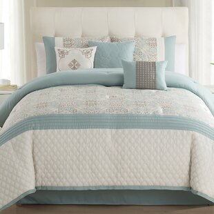 Wolfe 7 Piece Comforter Set