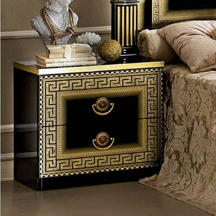 Albury 2 Drawer Nightstand