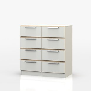Marcelino 8 Drawer Chest Of Drawers By Mercury Row