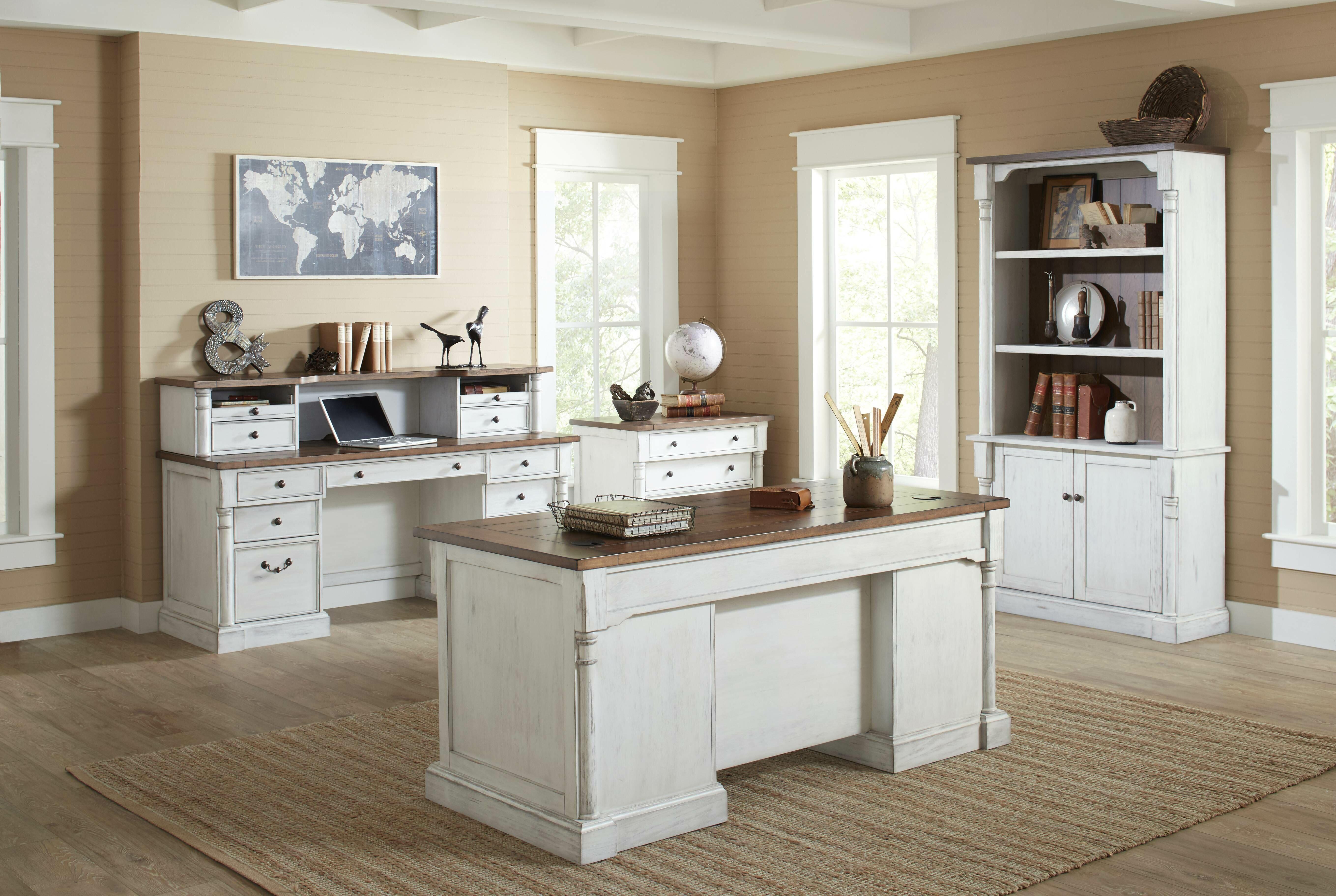 August Grove Chmura 4 Piece Desk Office Suite & Reviews | Wayfair