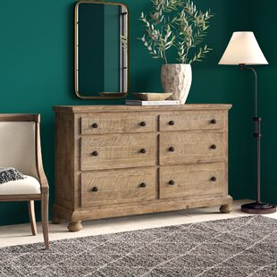 Greyleigh Trudy 6 Drawer Double Dresser