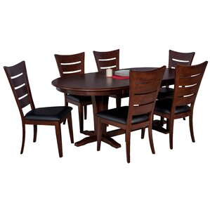 Doretha 7 Piece Dining Set (Set of 7) by Darby H..