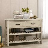 Acton 45 Solid Wood Console Table by Longshore Tides