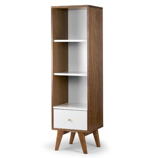 Caraballo Media Tower Standard Bookcase by Turn on the Brights