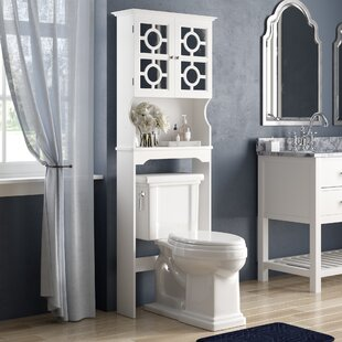 Top Westervelt 24.38 W x 67.73 H Over the Toilet Storage ByWilla Arlo Interiors