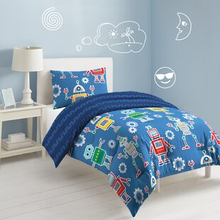 Atwater Robots & Bits Reversible Comforter Set