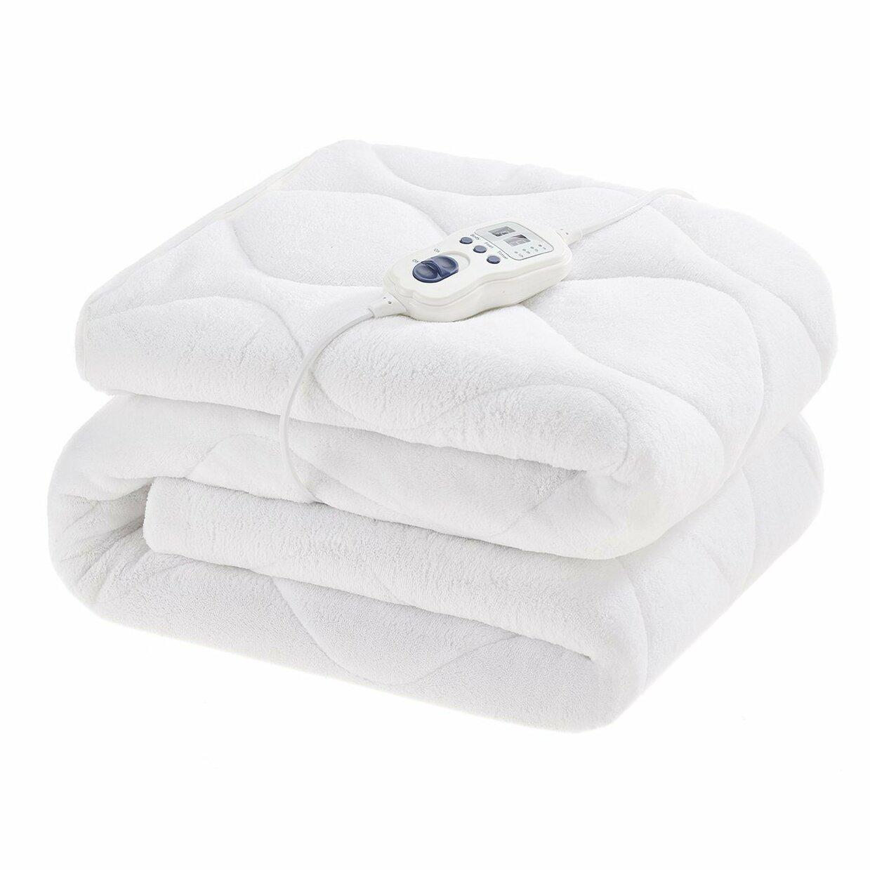 Slumberdown Wonderfully Warm Control Electric Blanket Reviews Wayfair Co Uk