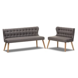 Price Check Jacky 2 Piece Living Room Set by Ivy Bronx Reviews (2019) & Buyer's Guide