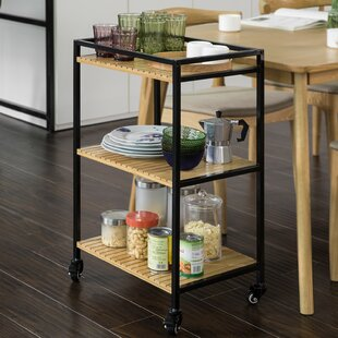 Yoder Serving Cart By Borough Wharf