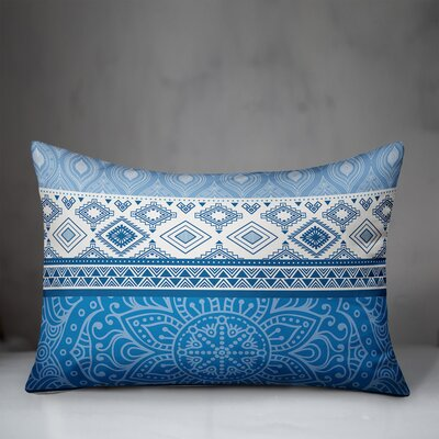 Renick Boho Textiles Indoor/Outdoor Lumbar Pillow by Bungalow Rose 2020 Sale