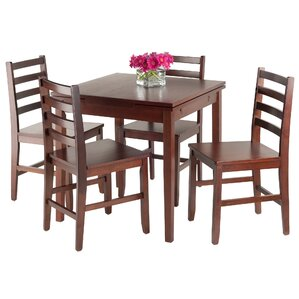 Pulman 5 Piece Dining Set by Luxury Home