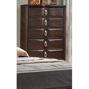 Darby Home Co Elidge 5 Drawer Chest Image