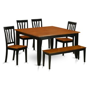 Parfait 6 Piece Dining Set by Wooden Importers Best Design