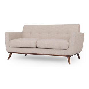 Luther Mid-Century Loveseat