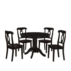 Black And White Dining Room Sets black kitchen & dining room sets you'll love | wayfair