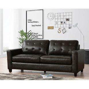 Dion Genuine Leather Sofa