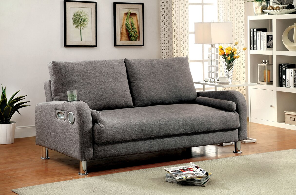 molly futon convertible sofa latitude run molly futon convertible sofa  u0026 reviews   wayfair  rh   wayfair