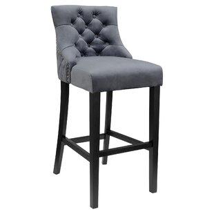 Rosalind Wheeler Grey Seat Bar Stools